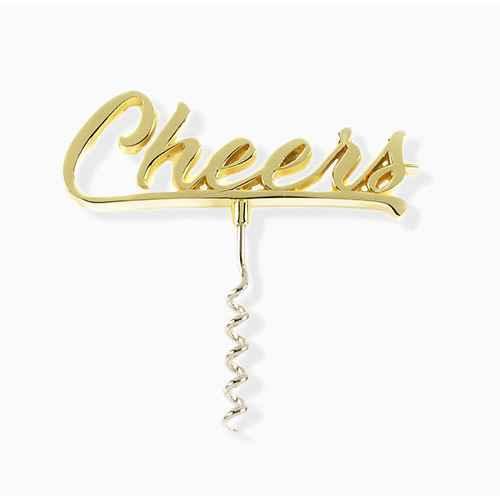 """Cheers"" Cork Screw"