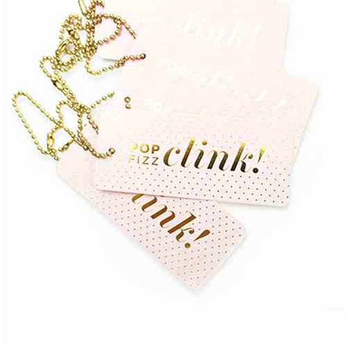 """6ct """"Pop Fizz Clink"""" Luxe Tags"""