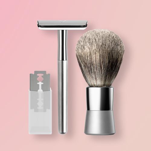 Bevel Shave System Razor Blades - 20ct, Bevel Shave System Safety Razor, Bevel Men's Shave Starter Kit
