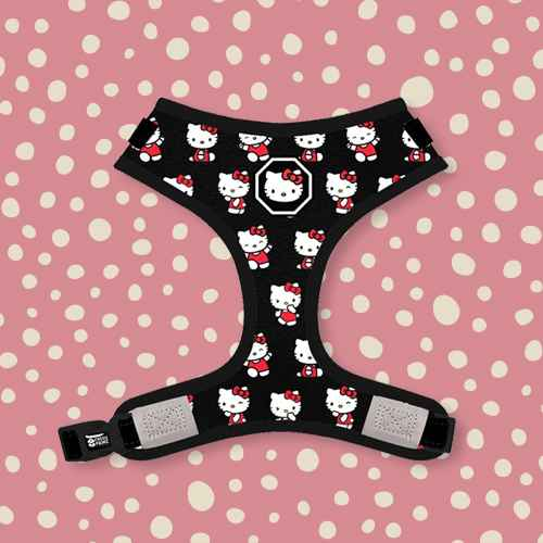 Fresh Pawz Hello Kitty X Fresh Pawz Adjustable Mesh Dog Harness