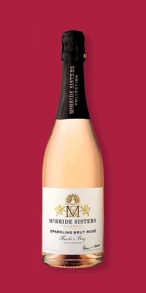 McBride Sisters Sparkling Brut Rosé Wine - 750ml Bottle