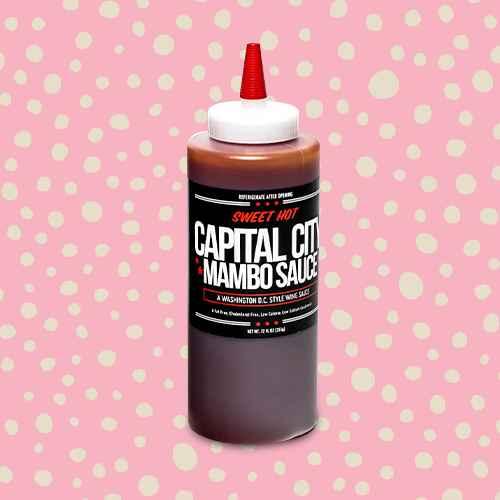 Capital City Sweet Hot Mambo Sauce - 12oz