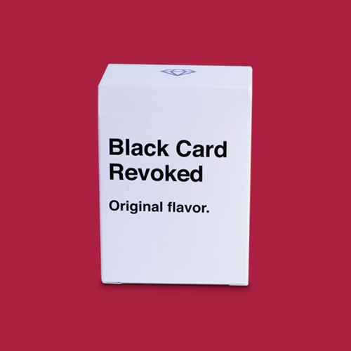 Black Card Revoked Game