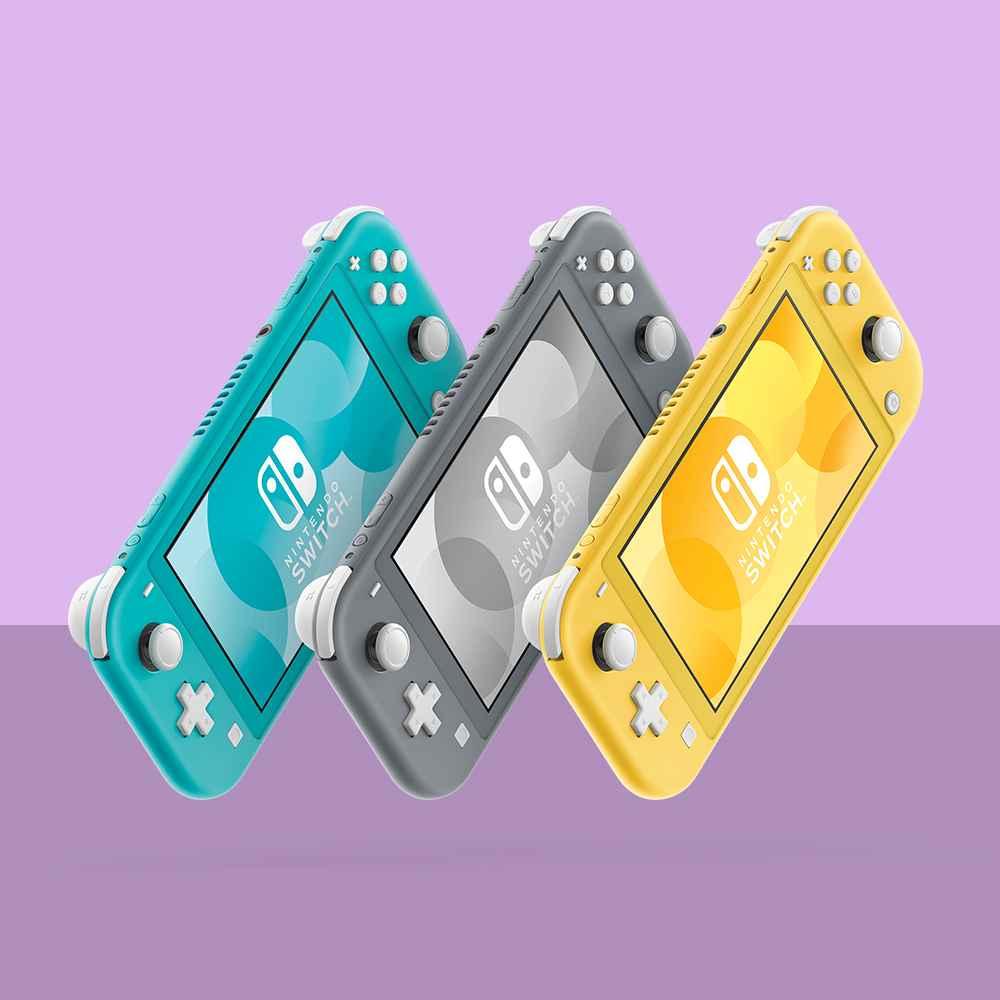 Nintendo Switch Lite - Gray, Nintendo Switch Lite - Turquoise, Nintendo Switch Lite - Yellow