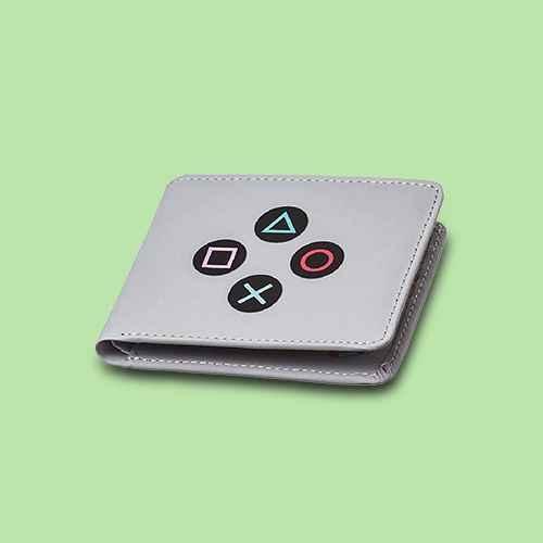 Rubber Road PlayStation Controller Men's Bifold Wallet