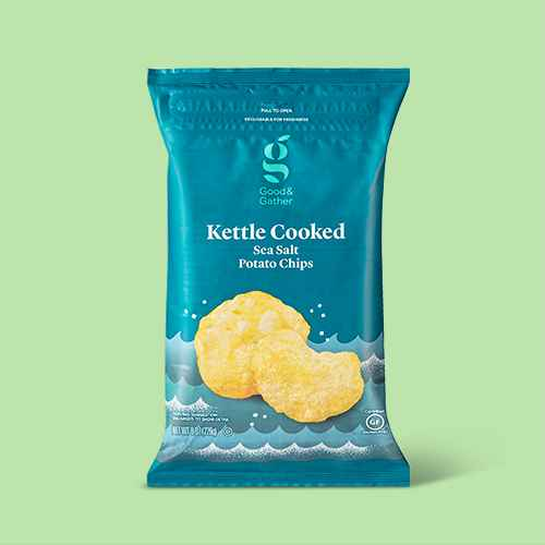 Traditional Kettle Chips - 8oz - Good & Gather™