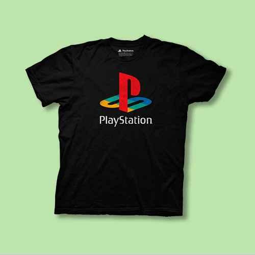 Men's PlayStation Short Sleeve Graphic T-Shirt - Black S