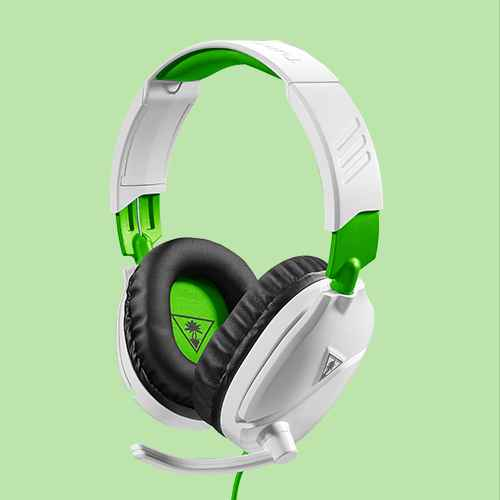 Turtle Beach Recon 70 Wired Gaming Headset for Xbox One/Series X/S - White/Green