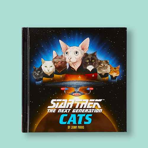 Star Trek: The Next Generation Cats - by  Jenny Parks (Hardcover)