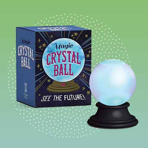 Magic Crystal Ball - (Rp Minis) by  Marlo Scrimizzi (Paperback)