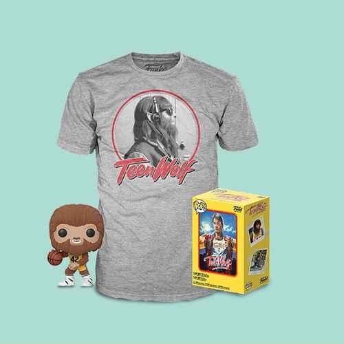 Funko POP! Movies Collectors Box: Teen Wolf (Flocked) POP! & Tee - L (Target Exclusive)