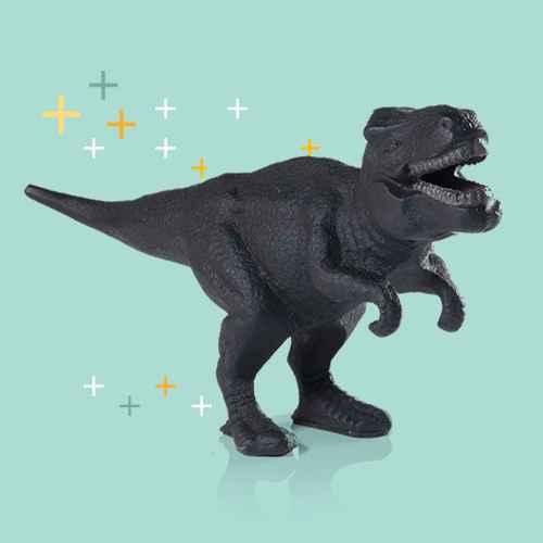 Dinosaur Print Bottle Opener