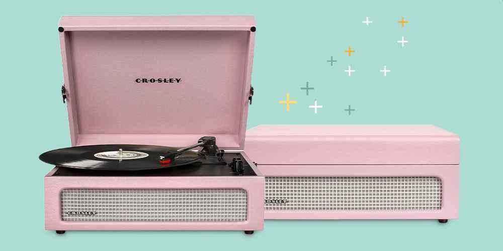 Crosley Voyager Turntable - Amethyst