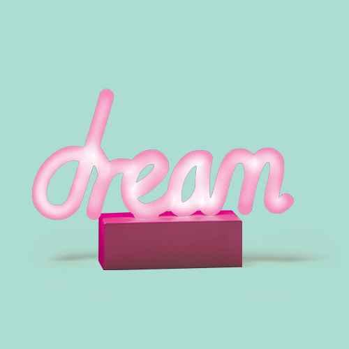 Mini LED Dream Novelty Table Lamp Pink - West & Arrow