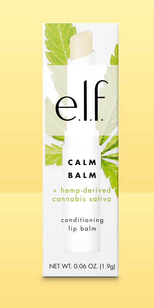 e.l.f. Calm Balm + hemp-derived Cannabis Sativa Seed Oil