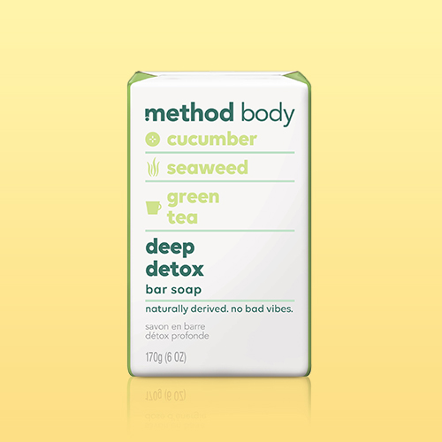 Method Bar Soap Deep Detox - 6oz