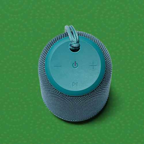 heyday™ Cylinder Portable Bluetooth Speaker With Strap - Teal