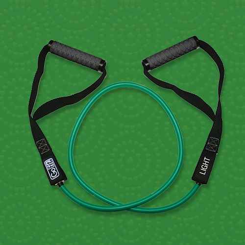 GoFit Power Tube with Handle Light - Green