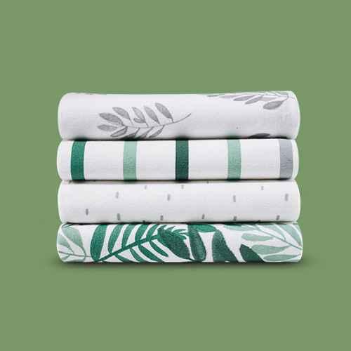 Flannel Baby Blanket - Cloud Island™? Green 4pk