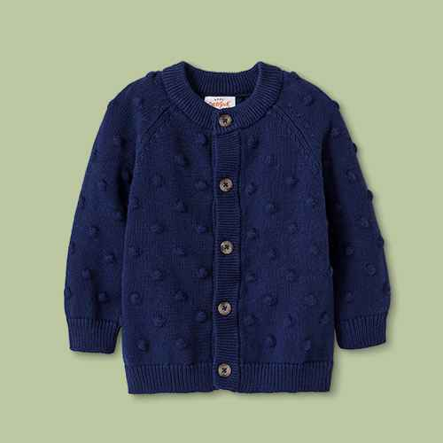 Baby Boys' Button-Up Cardigan Sweater - Cat & Jack™ Blue
