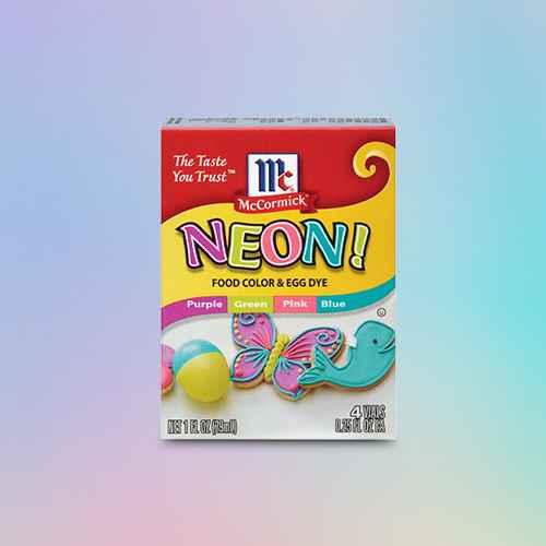 McCormick Assorted Neon Food Coloring Kit 4/.25oz (1oz)