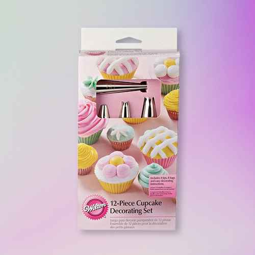 Wilton New Cupcake Decorating Set - 12ct