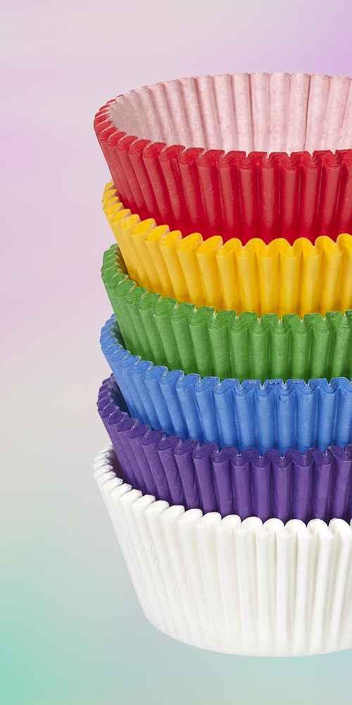 Wilton Rainbow Mega Baking Cups - 150ct