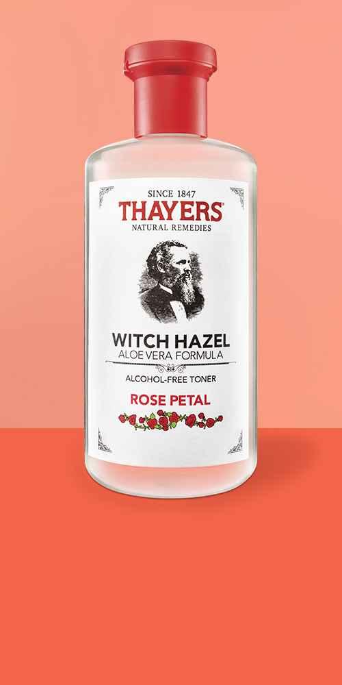 Thayers Witch Hazel Alcohol Free Toner - Rose Petal - 12 fl oz