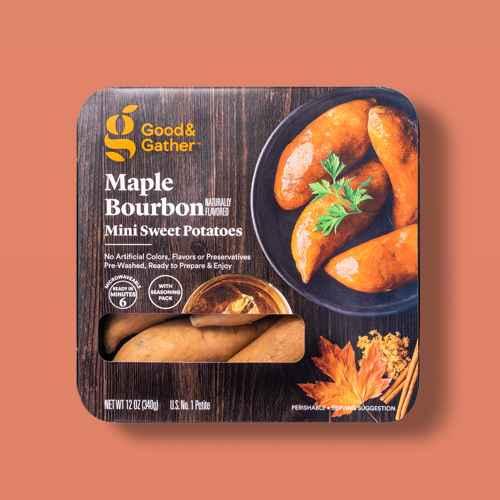 Maple Bourbon Mini Sweet Potatoes - 12oz - Good & Gather™, Sweet Potatoes - 3lb Bag - Good & Gather™