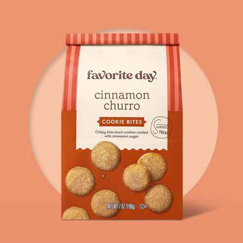 Cinnamon Churro Cookie Bite - 7oz - Favorite Day™, Maple Naturally Flavored Cookie Thin - 7oz - Favorite Day™