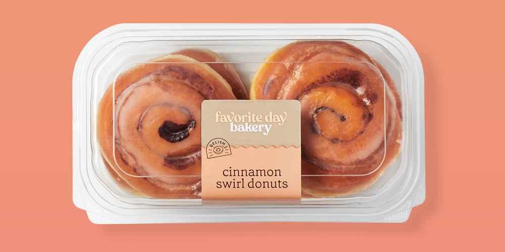 Cinnamon Swirl Donuts - 12oz/4ct - Favorite Day™, Cinnamon Petite Croissants - 4.5oz/6ct - Favorite Day™