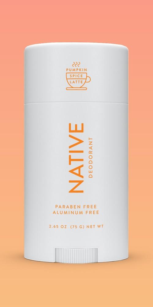Native Limited Edition Pumpkin Spice Latte Deodorant - 2.65oz