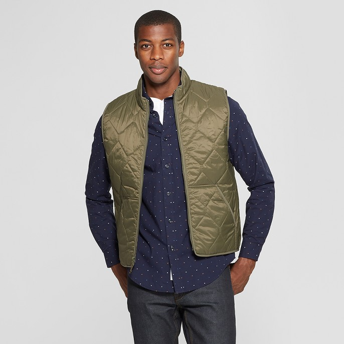 Men's Lightweight Quilted Vest - Goodfellow & Co™