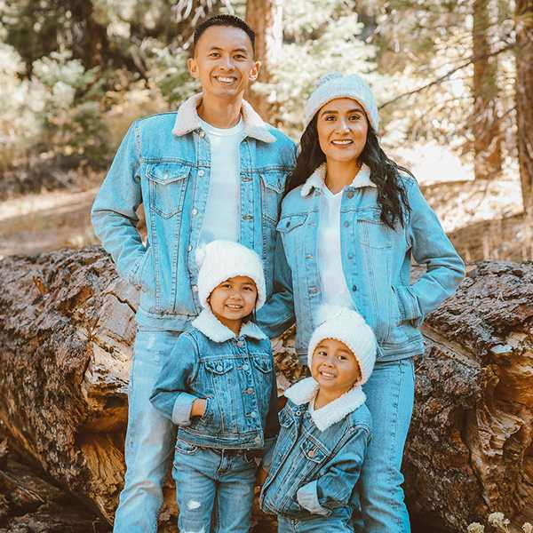 Matching family outfits that will make your photos aww-some.