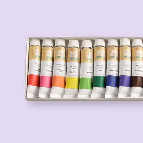 12ct Watercolor Paint Set - Hand Made Modern®