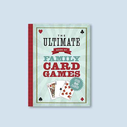 The Ultimate Book of Family Card Games - by  Oliver Ho (Paperback)