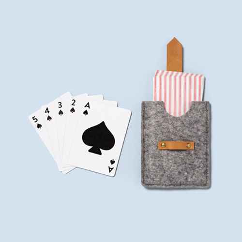 Playing Cards in Felt Case - Hearth & Hand™ with Magnolia