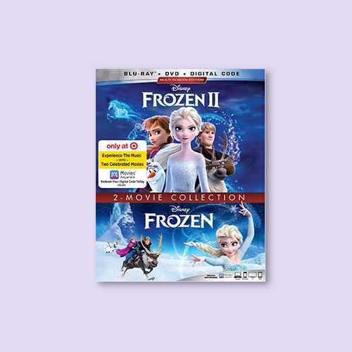 Frozen 2-Movie Collection (Target Exclusive) (Blu-Ray + DVD + Digital)