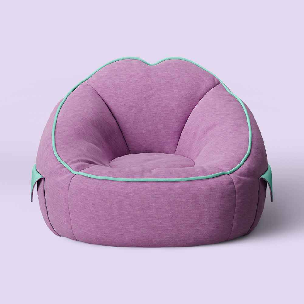 Jersey Bean Bag Chair with Pockets - Pillowfort™