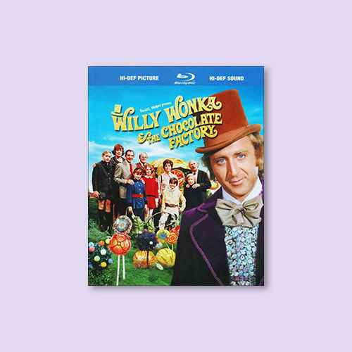 Willy Wonka & the Chocolate Factory (WS) (Blu-ray)