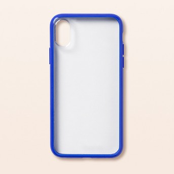 heyday™ Apple iPhone X/XS Clear Case with Bumper Frame