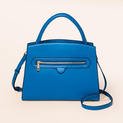 Zipper Satchel Handbag - A New Day™