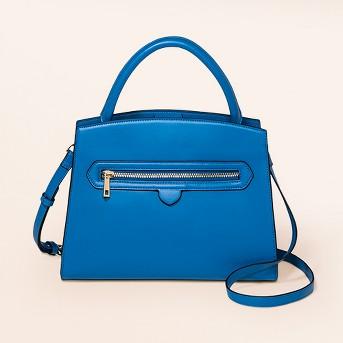 Zipper Satchel Handbag - A New Day™