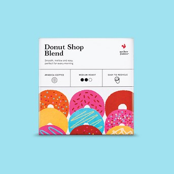 Donut Shop Medium Roast - Single Serve Pods - 18ct - Archer Farms™