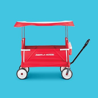 Radio Flyer 3-in-1 EZ Fold Wagon™ with Canopy