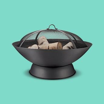 Bangor Woodburning Firepit - Black - Project 62™