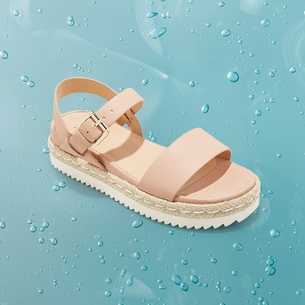 Women's Rianne Espadrille Ankle Strap Sandals - A New Day™