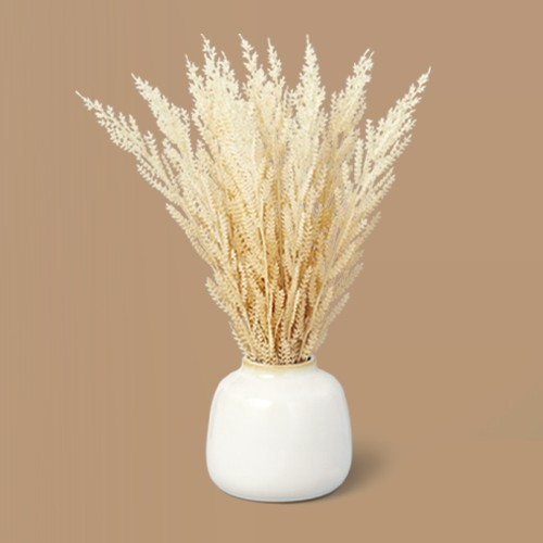 """17.5"""" Faux Wheat Grass Foliage Potted Plant - Hearth & Hand™ with Magnolia"""