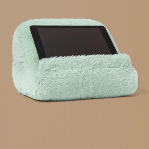 Faux Fur Tablet Holder Mint - Pillowfort™