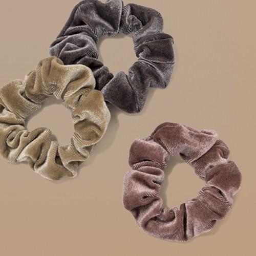 Solid Velvet Hair Twister Set 3pc - Wild Fable™